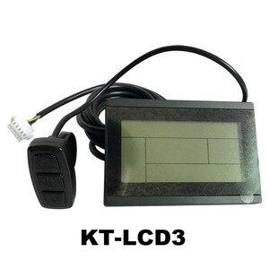 Image 2 - ไฟฟ้าจักรยาน 24V 36V 48V 60V 72V อัจฉริยะ KT LCD3 จอแสดงผล eBike จักรยาน LCD ควบคุมแผงกันน้ำตัวเลือก
