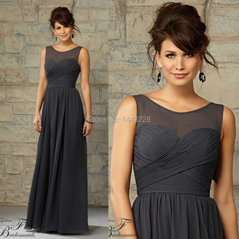 Popular Charcoal Bridesmaid Dresses-Buy Cheap Charcoal Bridesmaid ...