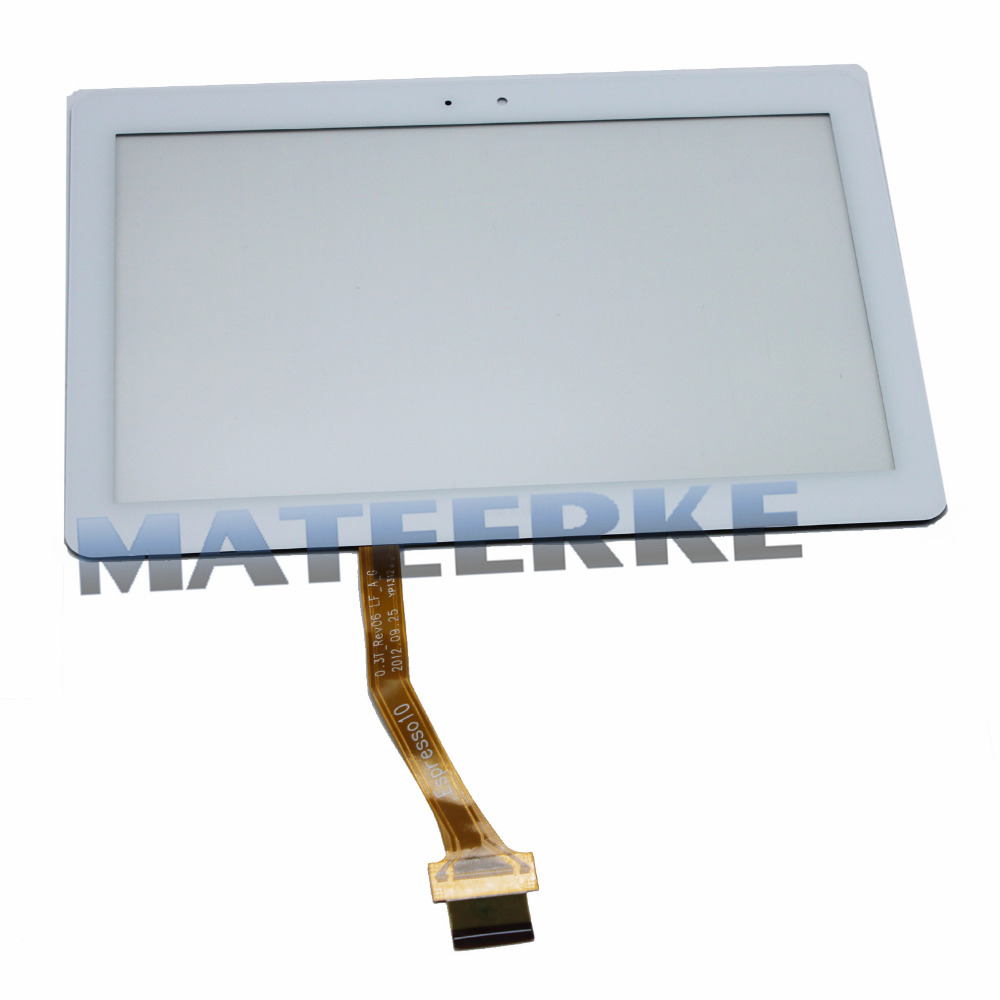 NEW 10.1 White Digitizer Touch Screen Glass Lens Replacement For Samsung Galaxy Tab 2 P5100 ,Free Shipping