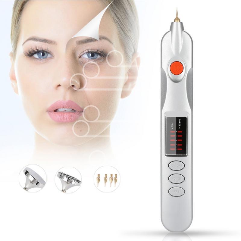 Professional Skin Mole Removal Pen Plug in Electric Magic Pen Freckle Wrinkle Mole Spot Tatto Removal