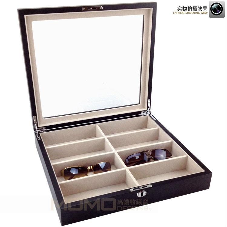 d00ccdb29aec4 Luxury wooden sunglasses storage box