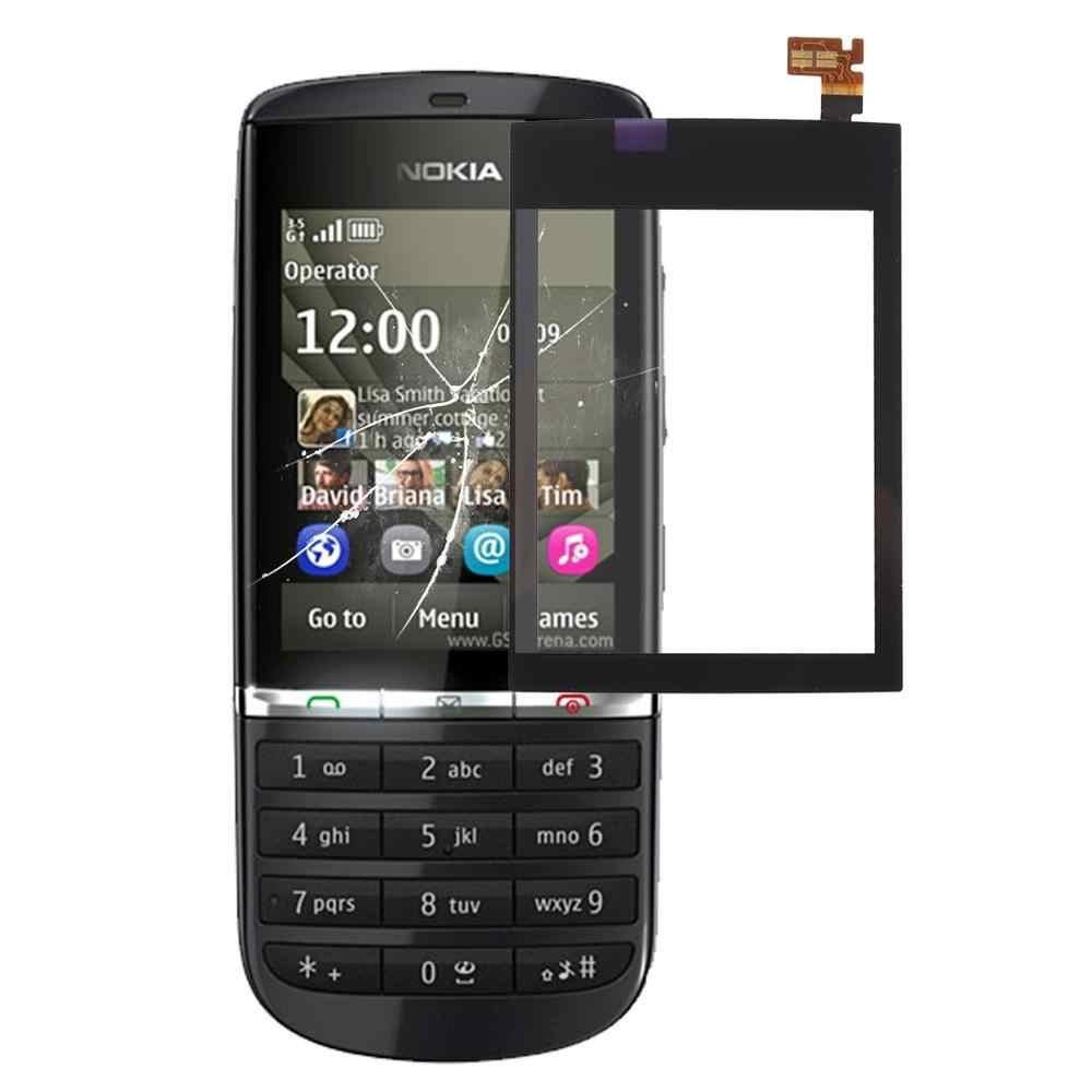 Màn hình cảm ứng Cảm Ứng dành cho Nokia Asha 300 501 305 311 308 202 503 Bộ Số Hóa Màn Hình Cảm Ứng Cảm Biến Ống Kính Trước kính Thay Thế