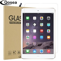 Qosea Tempered Glass For Apple IPad Mini 4 9H Hardness Clear Protective Film Explosion Proof Screen