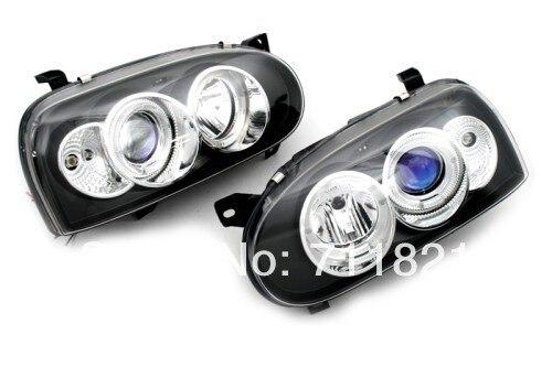 Светодиодный проектор головного света для VW Гольф mk3