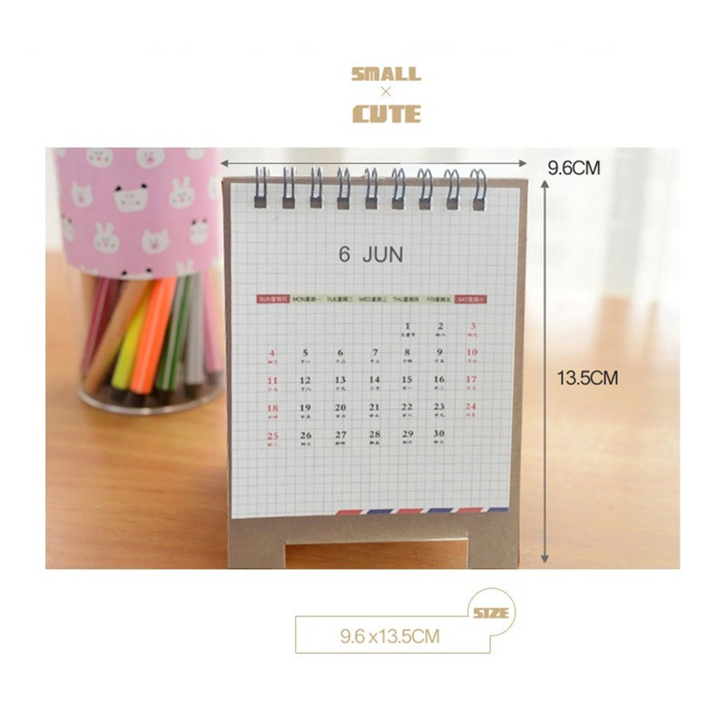 Home K-pop Kpop Exo Exact Album 2017 Desk Calendar Desktop Office Desk Supplies School Korean Style Calendar Notes K Pop Exo