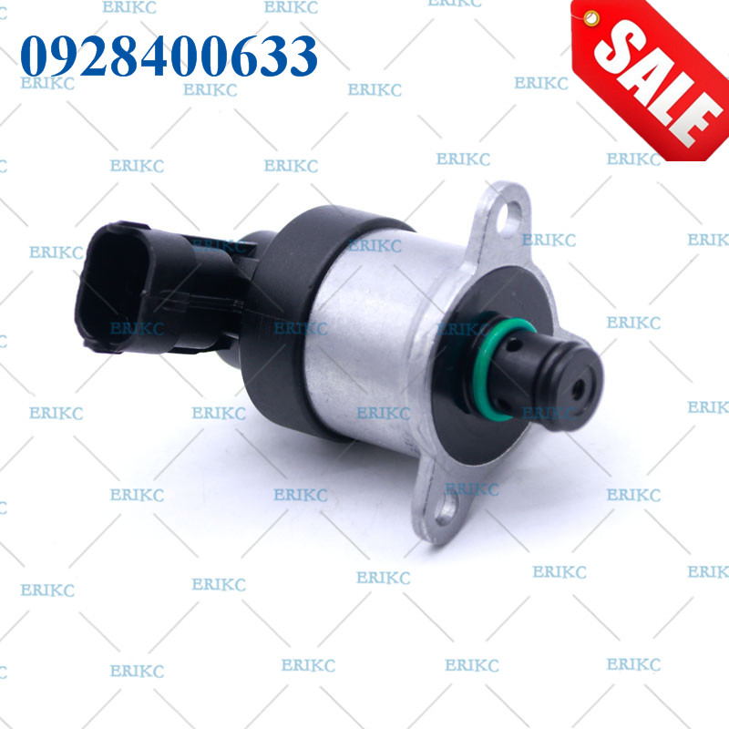 ERIKC 0928400633 SCV Common Rail Injector Measure System and Auto Control Valve Regulator 0 928 400 633 for Diesel Injector Pump diesel common rail tool for delphi injector scv pvc pcv fuel metering valve rama f01a crt100