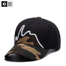 2017 Bend Baseball Cap Travel Cap Mount On Cap Male And Female Universal Camouflage Hat Fashionable hat with T-shirt