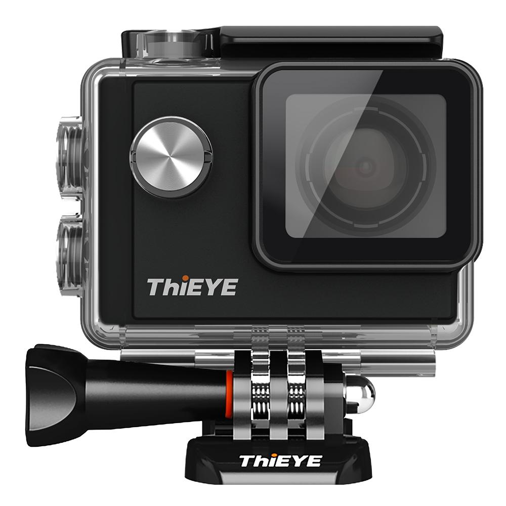 Prix pour THIEYE I60 WIFI Action camera 4 K étanche HD selfie caméra sport avec sport vidéo caméra accessoires mieux que Gopro 4