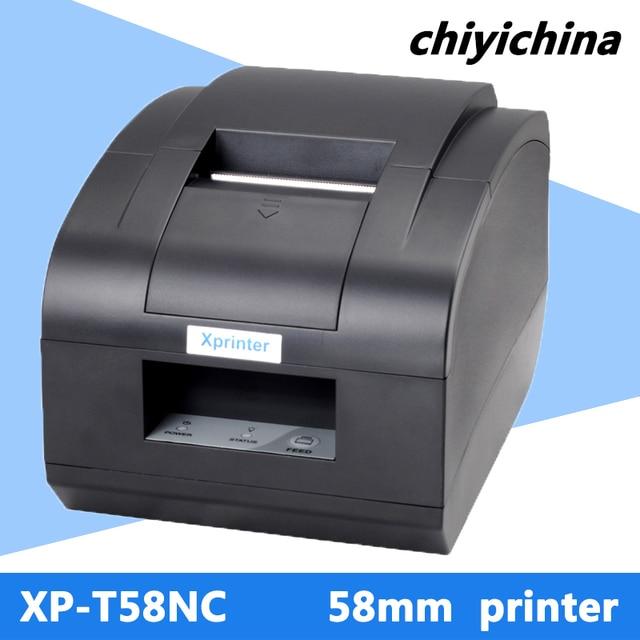 XP-C58N термальный принтер кассовый принтер ethernet порт машина LAN интерфейс 58 мм чековый принтер с автоматическим резаком