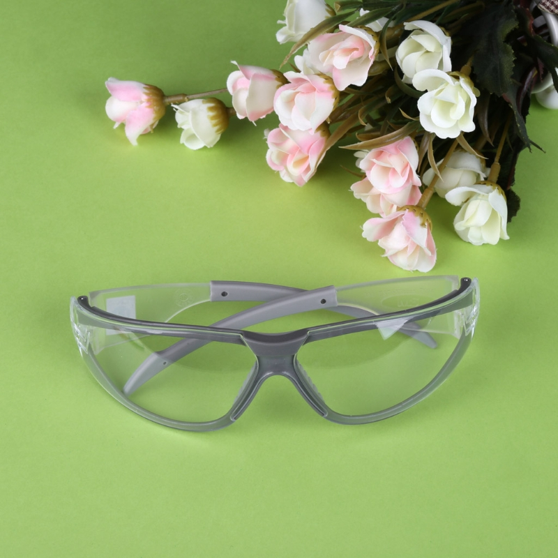 3M 11394 Safety Glasses Goggles Anti-Fog Dustproof Windproof Transparent Glasses F42D
