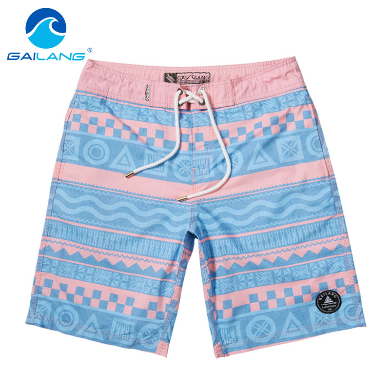 Gailang Brand Men Casual Beach Shorts Swimwear Swimsuits Boxer Trunks Quick Dry Men's Board Shorts Big Size XXXL Casual Shorts