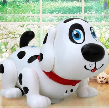 child  gift  multifunctional high quality    dog toy electric intelligent electric dot  dog educational  toy can be  chased