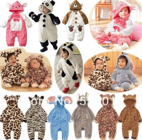 Best Selling Baby Clothes Kids Animal Design Baby Cotton Romper