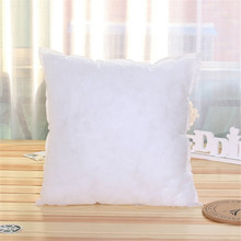 Square Cushion Core Non-woven Sofa Cushion Inner Core 400g PP cotton back cushion pillow core cheap Cusion Not Removable and Washable HANDMADE Polyester Cotton Seat Solid Adults CUC180901 LISM soft None
