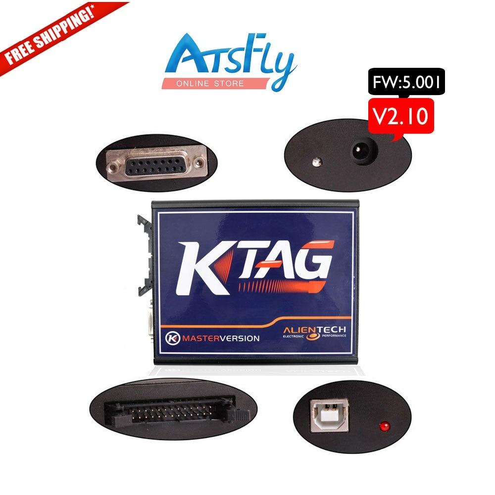 ФОТО Tool master for KTAG K-TAG ECU Programming Tool Master Version V2.10 V 2.10 100% J-Tag Compatible firmware V 5.001