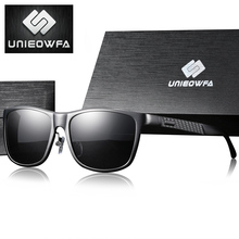UNIEOWFA Polarized Prescription Sunglasses Men Optical Myopi