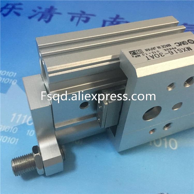 MXS16-10AT MXS16-20AT MXS16-30AT MXS16-40AT SMC Slide guide cylinder Pneumatic components стоимость