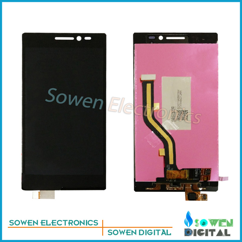 new for Lenovo Vibe X2 X2-TO X2-CU LCD display with Touch Screen digitizer assembly full sets , Black for lenovo vibe x2 x2 t0 lcd display touch screen digitizer frame assembly black by free shipping