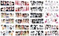 Na venda!! 12 Folhas Nail Art Água Decalques Audrey Hepburn Para Festa de Aniversário de Casamento BN 121-132