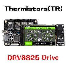 Lerdge-X 3D Printer Motherboard ARM32Bit Controller A4988 8825 8729 TMC2100 TMC2208 for 3D Printer Control Mainboard Kit Diy