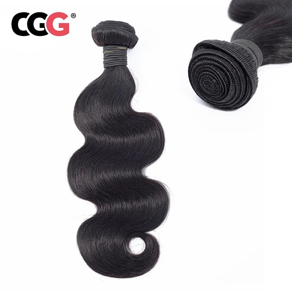 CGG Human-Hair-Bundles Monglian Sew-In Hair-Extensions No-Shedding-Machine Body-Wave