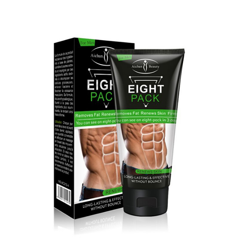 Men Body Care Cream Abdominal Muscle Cream Stronger Muscle Strong Anti Cellulite Burn Fat Product Weight Loss Cream Men New 2018