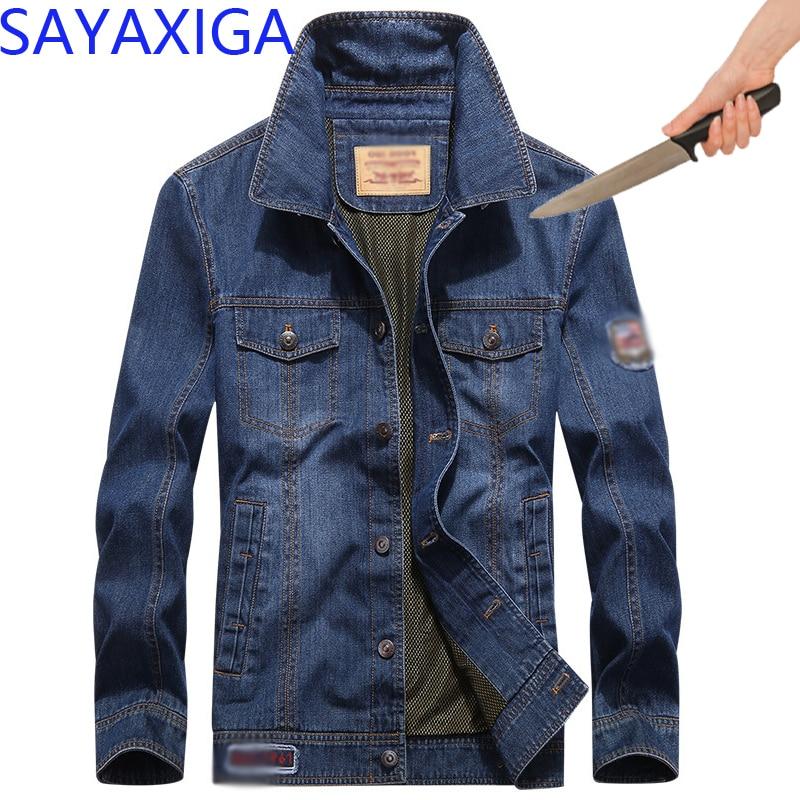 Self Defense Tactical Gear Anti Taglio Della Lama di Taglio Resistente Giacca di Jeans Anti Stab Prova di Cutfree stabfree Stealth Abbigliamento di Sicurezza-in Giacche da Abbigliamento da uomo su  Gruppo 1