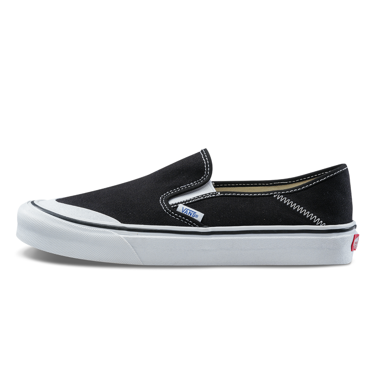все цены на Original New Arrival Vans Men's & Women's Slip-On SF Low-top Skateboarding Shoes Sport Outdoor Sneakers Canvas VN0A3MVDY28/T1Y онлайн