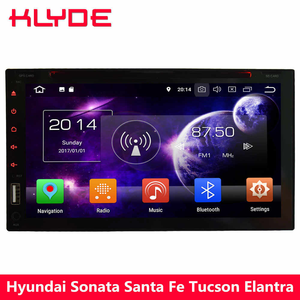 KLYDE Octa Core PX5 4G Android 8 0 4GB RAM 32GB ROM 2Din Universal Car DVD  Player For Nissan Pathfinder Qashqai Paladin Livinal