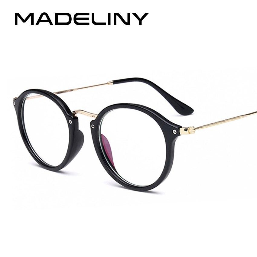 963622d78b MADELINY New Fashion Vintage Cat Eye Glasses Frame Men Women Myopia  Eyeglasses jacobs Fashion Optical Frame