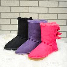 HOT! New Fashion Women's Winter Boots ug Australia Cute Bow Boot Waterproof High-quality Outdoor Snow Boots Brand IVG