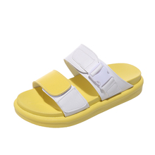 цены Summer Women Sandals and Slippers 2019 New Casual Wild Beach Shoes   Soft Bottom Sandals Non-slip Thick  Jelly Shoes