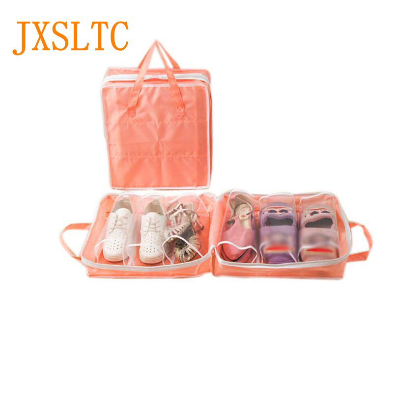 2018 New Travel All Kinds Of Shoes Organizer Bag Portable Bag Dust Cover Travel Waterproof Dry Wet Shoes Separate Handbag A01-2