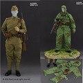 """Linha de alerta AL10009 1/6 Conjuntos de Roupas roupas Uniforme Militar Sniper Soldado Soviético Relação F 12 """"Figura Modelo Brinquedos"""