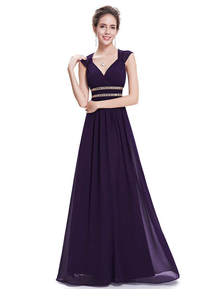b640706c6843 Detail Feedback Questions about New arrival Cap Sleeve V neck davids bridal  bridesmaid dress colors Blue Pink Grey Gold Navy white bridesmaid dress on  ...