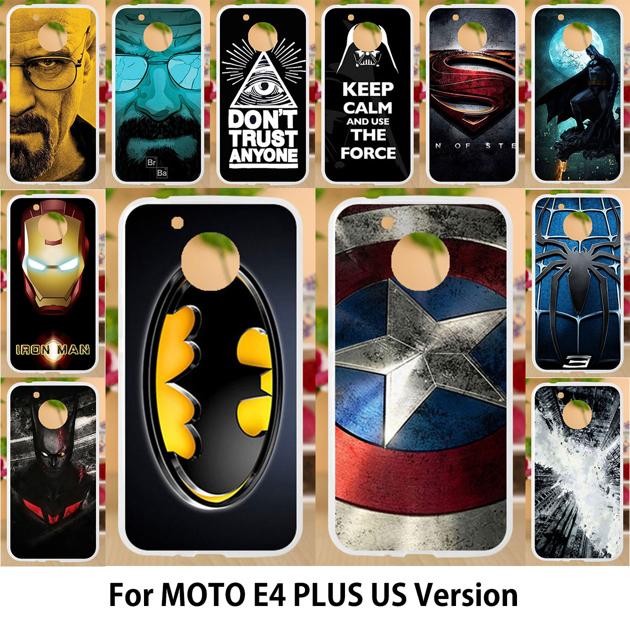 AKABEILA For Motorola Moto E4 Plus Case Silicone Soft TPU Covers for moto e4 plus us version Painting Superman Batman Bags Shell-in Fitted Cases from Cellphones & Telecommunications on Aliexpress.com | Alibaba Group
