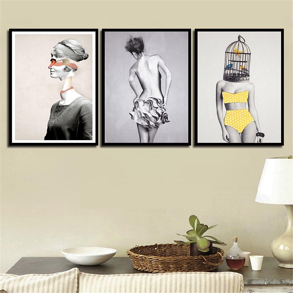 женские постеры на стену