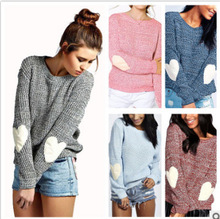 S-2XL women o neck long sleeve tops sweater lady autumn winter casual leisure brand knitted