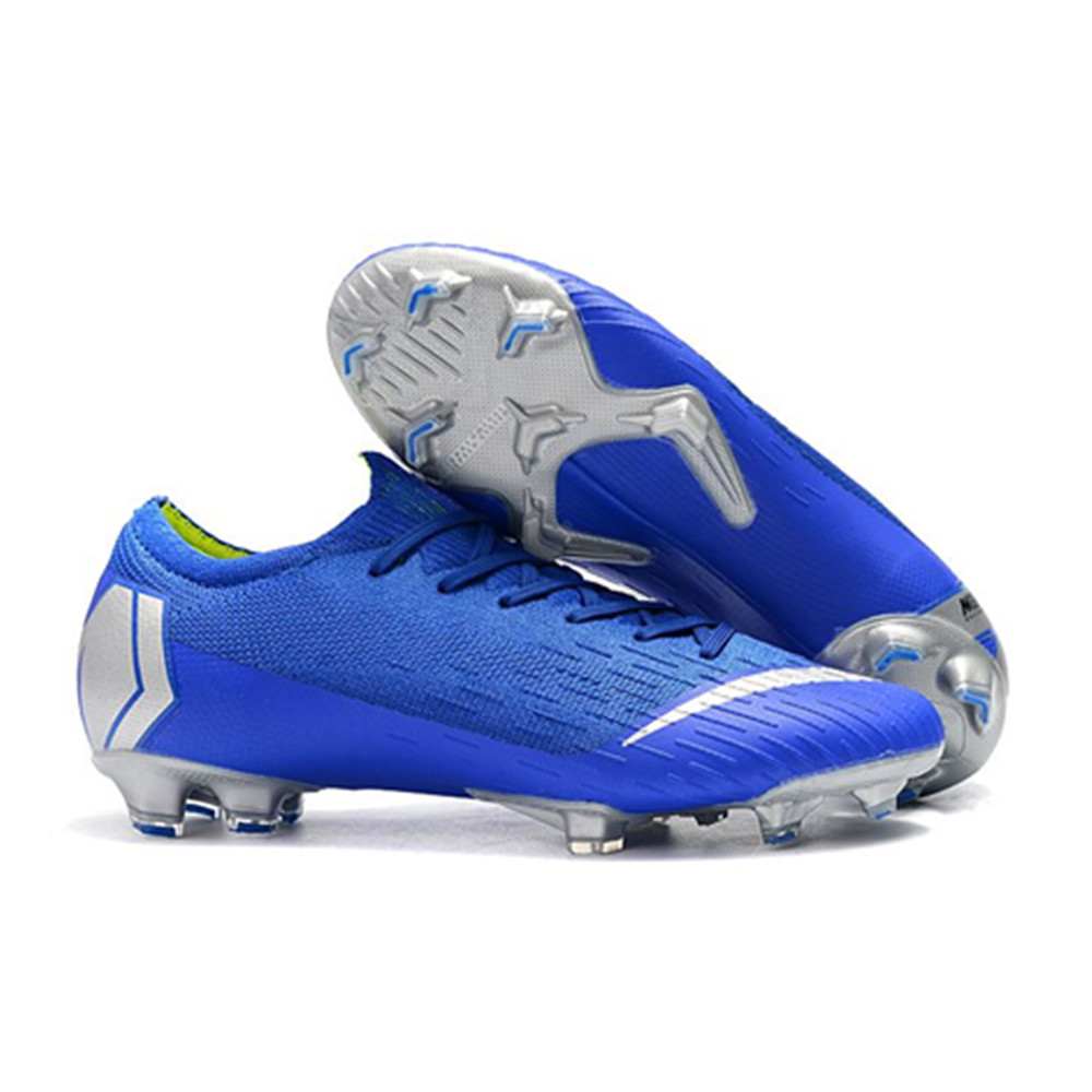 bf7e269862d9 12 Colors Frenzy 360 XII Elite FG Soccer Shoes Cleats Mens Low Ankle  Football Boots