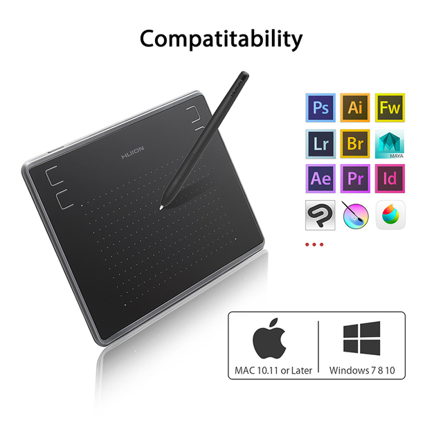 HUION H430P Digital Tablets with Micro USB