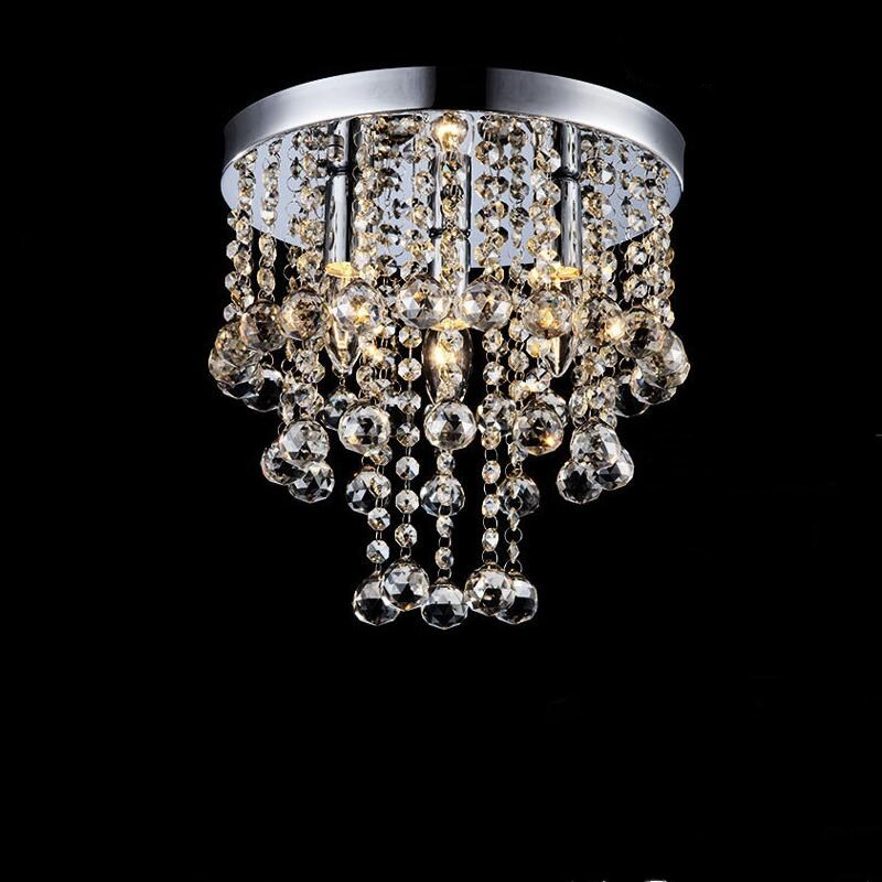 Modern Ring lustre LED Crystal bal chandelier crystal lamp Mini Chandelier Lighting Fixture Pendant Ceiling Lamp Crystal цена