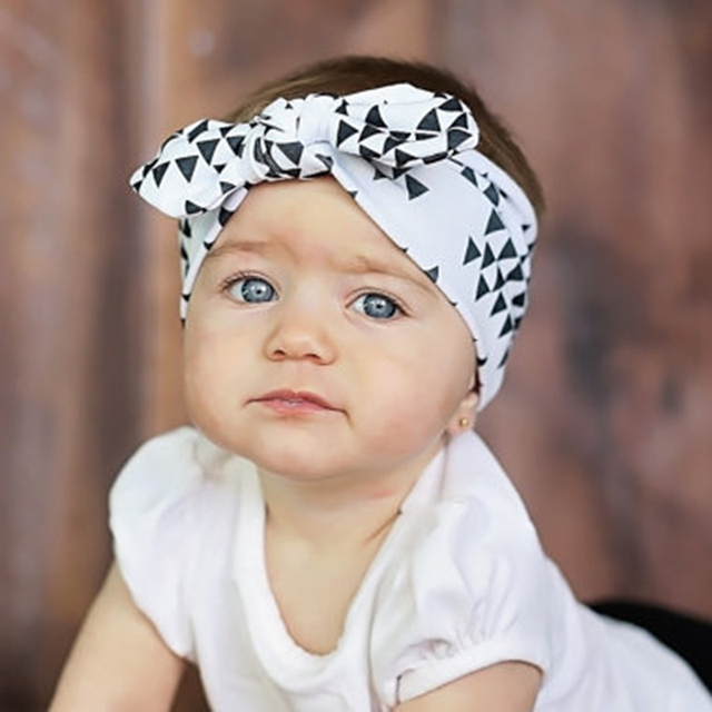 Hot new European and American fashion infant baby hair band baby hair  accessories ebay INS Hot b63461b8f7b