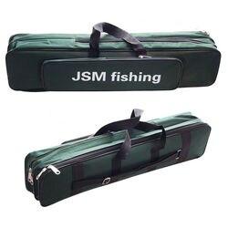 Shaddock Fishing Portable 2 Layer Green Nylon torby wędkarskie torba na wędkę Case wędkarski przechowywanie narzędzi torba