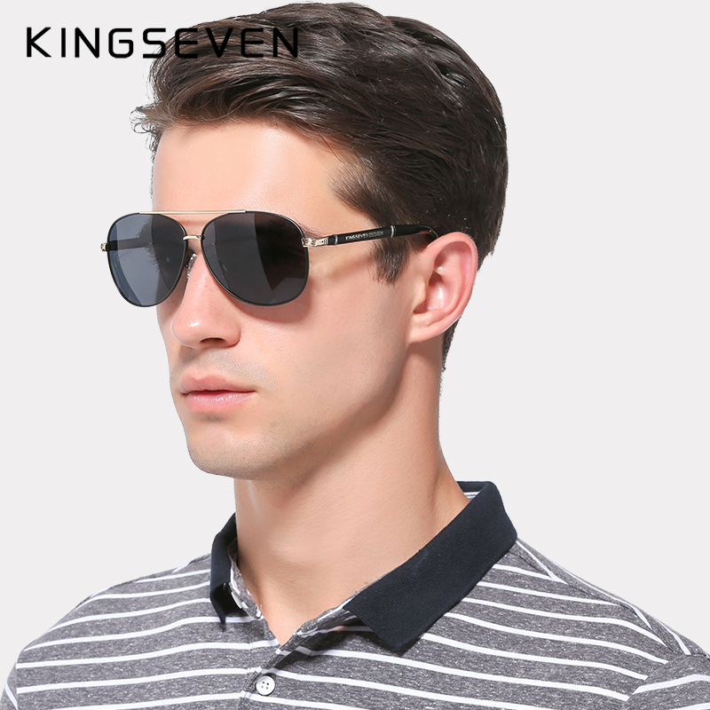 2019 Retro Quality Brand Original Cermin mata Lelaki Lelaki Polarisasi Lens Vintage Eyewear Accessories Gold Sun Glasses Oculos For Men