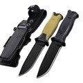 DuoClang Тактический Титановый стальной нож с покрытием  тактический нож для выживания  Военный нож с фиксированным лезвием