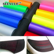 1pc SEEYULE 0.3m*1.2m Frosted with Flash Point Car Film Car Headlight Taillight Protection Color change waterproof Roll Sticker metsy hingle flash point
