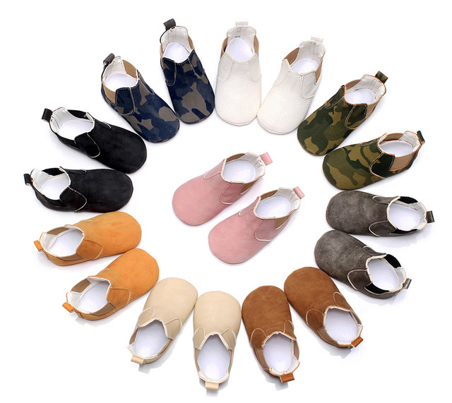 2019 New Lovely Baby Boots New Cute Baby Moccasins Handmade Infants Fashion Boot 9 Colors Baby Girl Shoes Bebe Boy First Walkers 1
