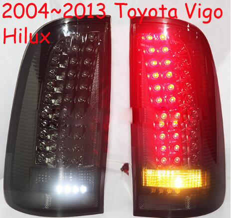 car-styling,Vigo Taillight,2004~2011,led,Free ship!2pcs/set,Vigo fog light;car-covers,Chrome,Vigo tail lamp,Vigo Hilux car styling yukon taillight 2015 2017 2pcs set led free ship yukon fog light chrome yukon tail lamp car detector yukon