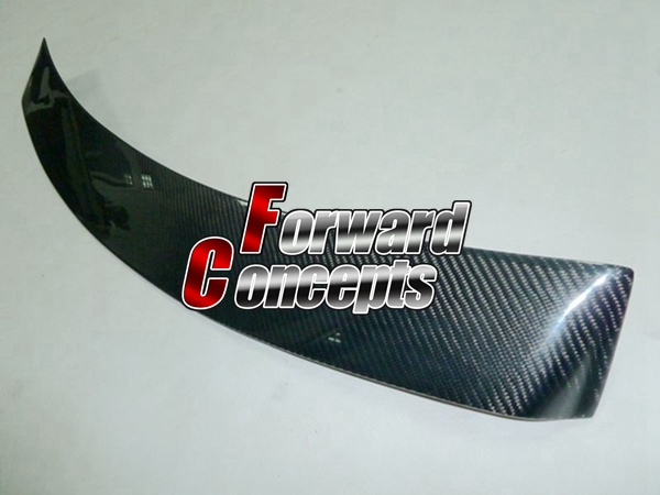 Pour fibre de carbone VW 99-04 JETTA BORA aileron de toit de fenêtre arrière