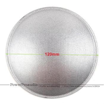 50pcs /Lot 120mm Silver Color LOUDSPEAKER SUBWOOFER / BASS SPEAKER DUST CAP
